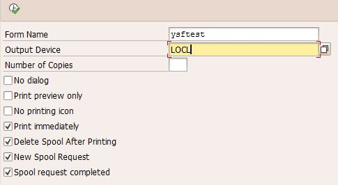 How To Create A Spool Request In Sap Abap Printing Issue