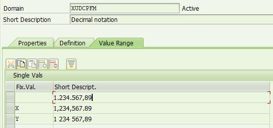 User Setting Decimal Separator, Thousands Separator, Date Format